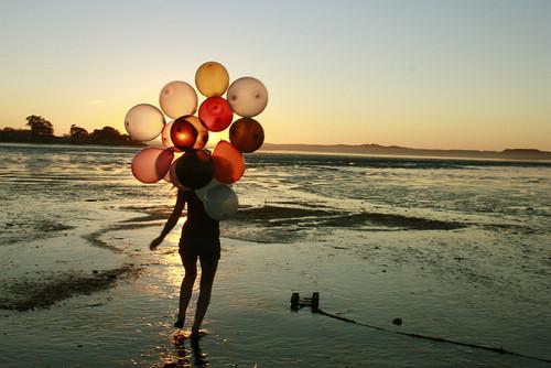唯美气球图片 代表着希望梦想的气球图片