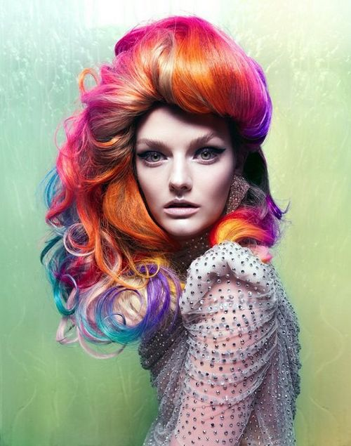 色彩缤纷的时尚非主流图片:但我的世界因你而完美
